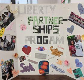 Liberty Partnerships Program display